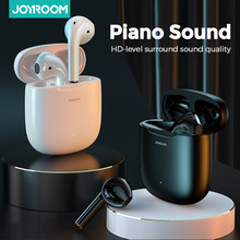 Joyroom T13 TWS Wireless Earphones Bluetooth 5.0 Waterproof Earbuds HD Stereo Built-in Mic for Xiaomi iPhone Huawei Piano Sound