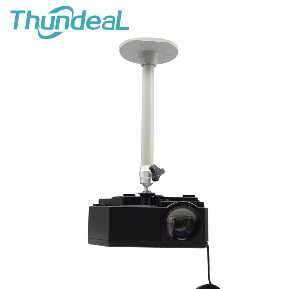 6mm Camera Monopods 21cm Projector Tripod Metal Wall Mount 1/4 Hanger Mounting Kit C80 YG420 TD90 Mini Projector Camera Bracket 3