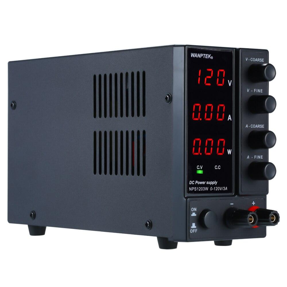 DC 120V régulateur de tension d'alimentation 3 chiffres affichage LED haute précision Mini alimentation réglable Protection contre les surtensions