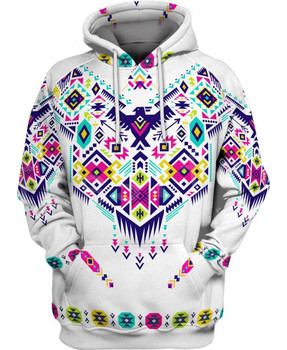 Tessffel Indian Native culture Harajuku Casual Colorful Tracksuit New Fashion 3DPrint Unisex Hoodie/Hoodies/Jacket Men Women s-1 1