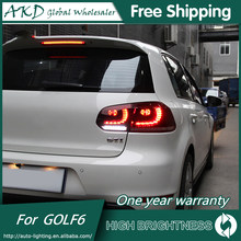 Tail Lights For VW 2009-2012 Golf 6 R20 DRL Daytime Running Lights Tail Lamp LED Bi Xenon Bulb Fog Lights Tuning Car Accessories(China)