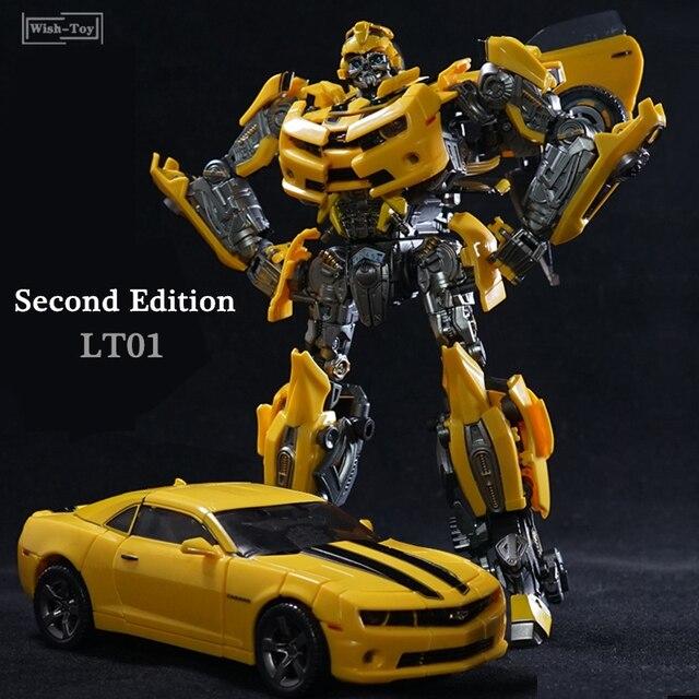 الأسطوري التحول روبوت LTS 03C LT 01 LT01 الأصفر النحل KO MPM03 MPM 03 سبيكة طبعة فيلم Upgade عمل نموذج لجسم اللعب