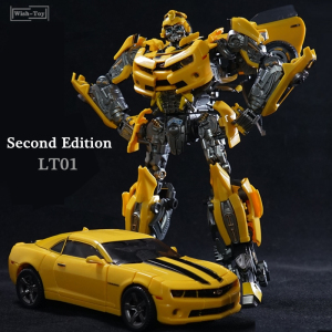 Image 1 - Legendary Transformation Robot LTS 03C LT 01 LT01 Yellow Bee KO MPM03 MPM 03 Alloy Edition Movie Upgade Action Figure Model Toys