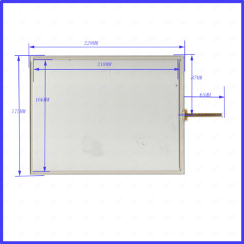190601 5PCS/LOT 228*175mm  4lines resistance screen this is compatible blass suitable 228mm*175mm