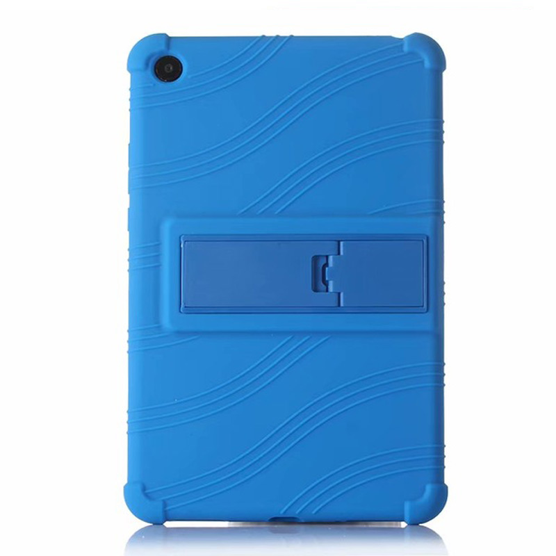 Silicone Soft Stand Back Case For Xiaomi Mi Pad 4 Plus <font><b>10</b></font> <font><b>2018</b></font> Cover for Mi Pad 4 Plus <font><b>10</b></font> <font><b>10</b></font>.1 case +Gift Film image