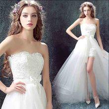 N большие размеры 5xl белое вечернее платье роскошное спереди короткое сзади длинное свадебное официальное платье для леди Плюс Размер 6xl 5xl