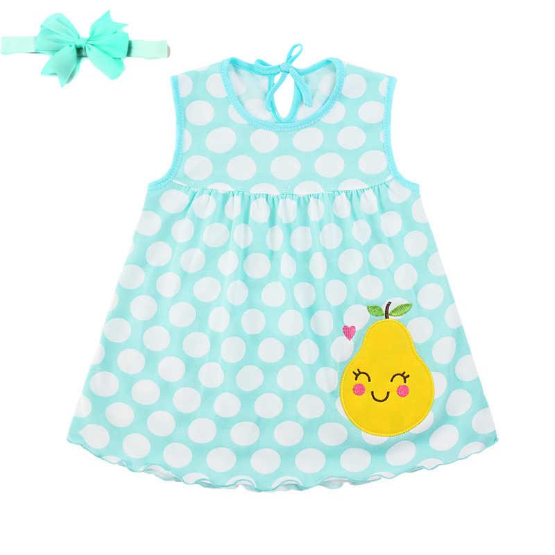 Платья для новорожденных платье с повязкой на голову девочек 0 1 лет лето 2019| |