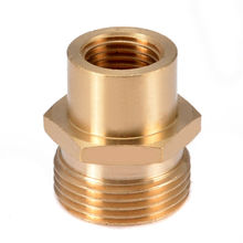 M22-14mm Brass High Pressure Washer Adapter For Kranzle Karcher Car Washing Equipment Part Cleaning Tools