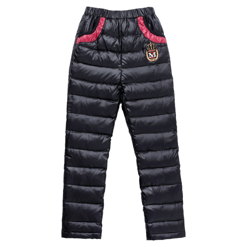 High Quality Children Rain Pants Casual Cotton Padded Thick Warm Trousers For Teenage Boys Soft Windproof Trousers Girls Clothes