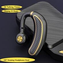 Bluetooth Oortelefoon V4.1 Draadloze Koptelefoon Hoofdtelefoon Mini Handsfree Headset 24Hrs Praten Met Microfoon Voor Iphone Xiaomi