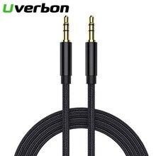 3,5mm Jack Audio Kabel Stecker Auf Stecker Audio Aux Kabel Nylon Kabel Audio Soundkarte Für Computer Telefon Verlängerung cordSpeaker