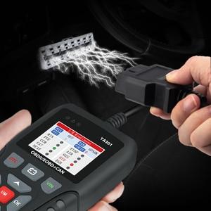 Image 1 - Code Reader und Scan Werkzeug für Auto Diagnose Schalten Motor Überprüfen Licht Automotive OBD2 Scanner PK KW850