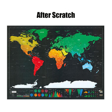 Scratch Map Travel Flags Big Size Large Deluxe Black Czech Republic Europe Scratch Off World Map Home Decoration Wall Stickers aneta rupniewska czech republic slovakia road map isbn 978 83 7546 109 1