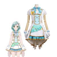 Amine BanG Dream Pastel*Palettes 2nd Single Hina Hikawa Cosplay Costume Lalita Skirt Full Set Woman Girl Party Hallowmas Costume