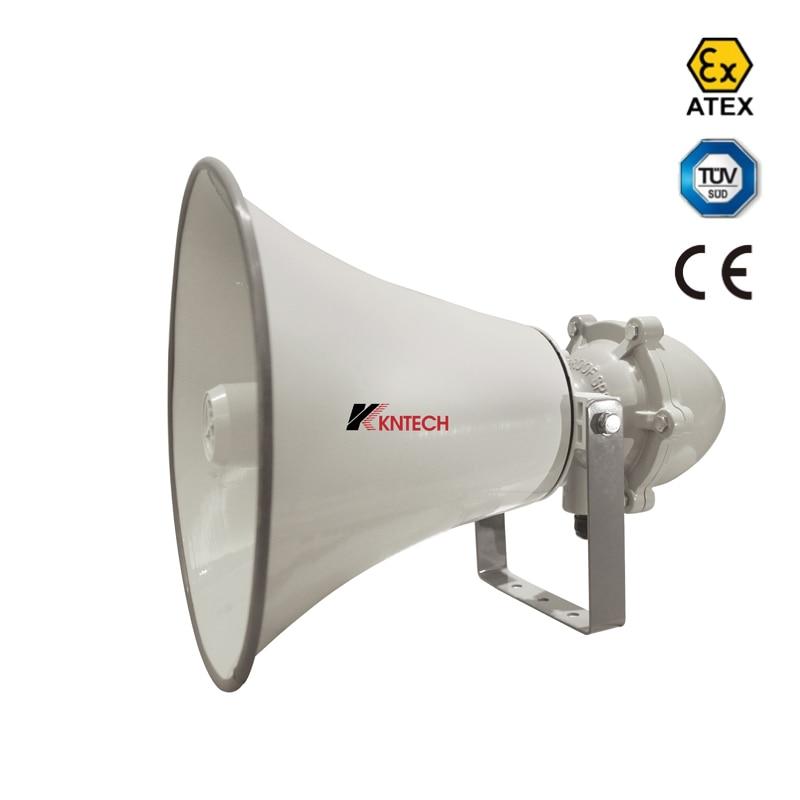 EX Proof Speaker 8W-50W IP66 Waterproof EXD IIC Audio Amplifier Ex Horn Speaker KNLB-EX8