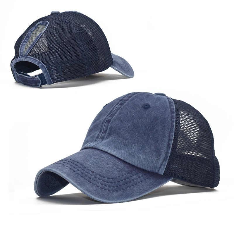 Marka at kuyruğu Snapback kap pamuklu beyzbol şapkası erkek kadın Hip Hop baba örgü şapka kamyon şoförü Dropshipping