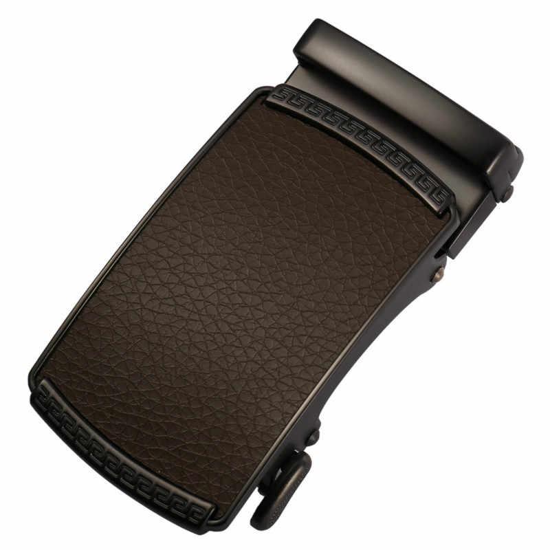 جديد الرجال الجلود حزام الذكور التلقائي مشبك حزام 3.5 سنتيمتر الرجال أصيلة حزام الاتجاه أحزمة ceinture مصمم الأزياء جان أحزمة