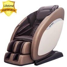Chaise de massage S5 Top de luxe, siège de bureau intelligent 4D, chauffant sur piste SL, sans gravité, massage, garantie à vie