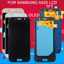 Dinamico OLED A5 2017 diplay For Samsung Galaxy A520 Lcd A520F SM-A520 Screen Digitizer Panel Assembly Free Ship
