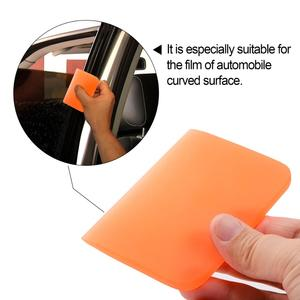 Image 3 - FOSHIO Soft PPF Wrapping Squeegee Vinyl Car Wrap Window Tint Film Install Scraper Carbon Fiber Sticker Remover Cleaning Tool