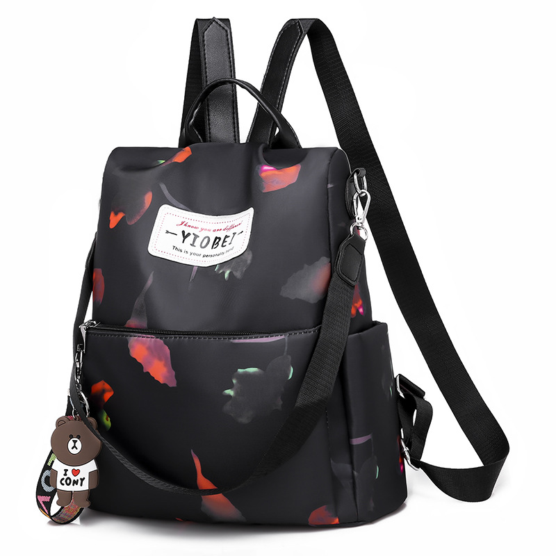 Fashion Anti-theft Women Backpack Famous Brand Ladies Large Capacity Backpack High Quality Waterproof Bag Oxford Female Backpack