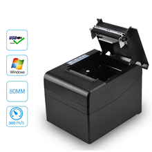 80mm Pos barcode receipt bill thermal printer wih high speed for 300mm/s with USB LAN bluetooth use for Kitchen with Auto Cutter