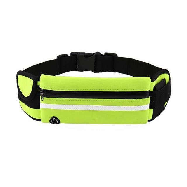 Unisex Waist Belt Bum Bag Jogging Running Pouch Mobile Phone Money Elasticated