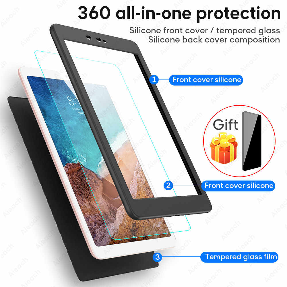 "360 Case สำหรับ Xiao Mi Mi Pad 4 กรณี 8.0 ""Ultra Thin Soft ซิลิโคนกรณีสำหรับ Xiao Mi Mi 4 Funda"