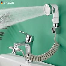 Long Flexible Hose Bathroom Faucet Hand-hold External Nozzle Suit Wash Hair House Sink Connector