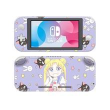 Pegatina de piel de Sailor Moon para Nintendo Switch, Protector de piel para Nintendo Switch Lite