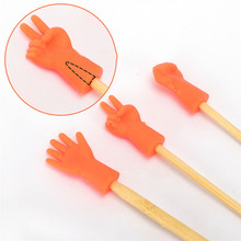 6pcs Knitting Needles Point Protectors For DIY Weave Knitting Mix Shaped Needle Tip Stopper