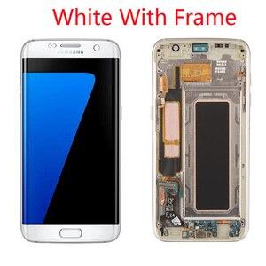 Image 5 - Grade Aaa + + + Originele 5.5 Super Amoled Lcd Met Frame Voor Samsung Galaxy S7 Edge Lcd G935 G935F Touch screen Digitizer Display