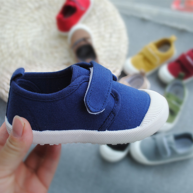 Image 2 - Spring Autumn 2020 New Childrens Water washed Canvas Shoes Boys and Girls School Casual Shoes Super Soft Comfortable SneakersSneakers   -