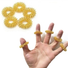 Health-Care-Tools Massagers Circulation-Rings Acupressure Finger Relief-Therapy Hand-Relax