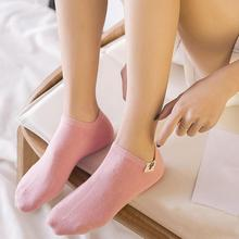 10 pieces = 5 pairs Spring summer women socks Solid color fashion wild shallow mouth invisible felmen slipper ankle