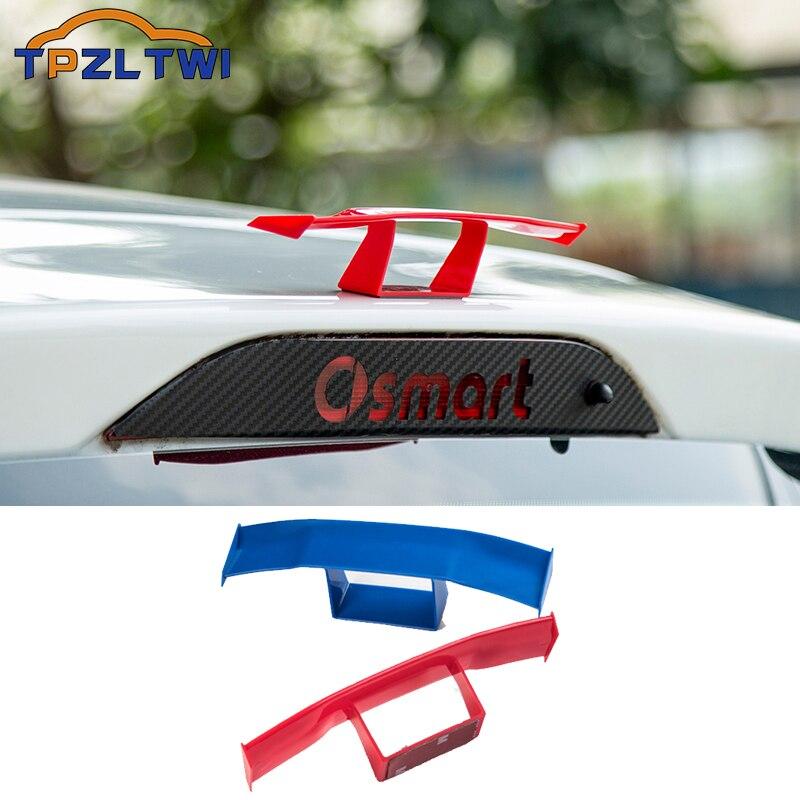 Мини-спойлер, украшение для заднего багажника автомобиля, крыло для Smart Fortwo Forfour 453 451 450 452 Crossblade Roadster Cabrio City-Coupe