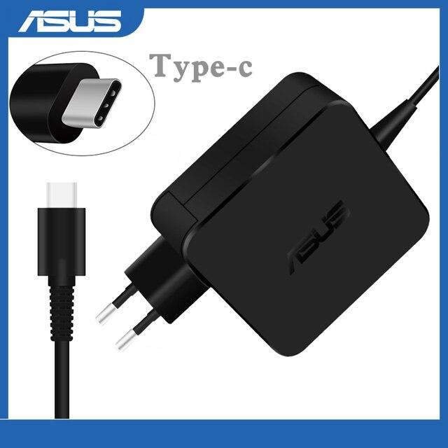 Chargeur de adaptateur pour ordinateur portable 65W USB type c pour Asus Lenovo ThinkPad 20V 3.25A 15V 3A 9V 3A 12V 3A 5V 2A adaptateur secteur