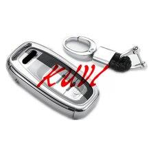 Мягкий ТПУ Брелок Защитный чехол для Audi A4 A4L A5 A6 A6L Q5 S5 S7 защитный чехол для автомобиля Стайлинг чехол автомобильные аксессуары