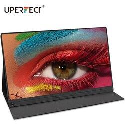 Портативный FHD-монитор UPERFECT, 15,6 дюйма, 1920X1080 IPS, HDMI, Type-C
