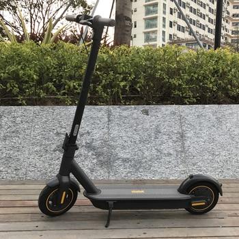 Stock europeo Ninebot MAX G30 Scooter eléctrico inteligente plegable KickScooter 65kmSkateboard freno doble Skateboard con aplicación
