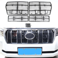 Car Insect Screening Mesh Front Grille Insert Net For Toyota Land Cruiser Prado 150 2010 2018 J150 LC150 FJ150 Accessories