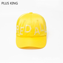 High Quality Women Baseball Cap Ladies Snapback Young Girls Hip Hop Rap Hat Rose Black White Yellow Gray 5 Colors