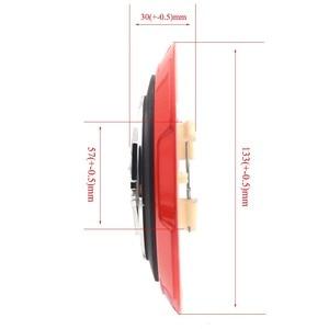 Image 5 - Gzhengtong cache Centre de roue en alliage, 133mm, 4 pièces/ensemble, pour Fiat 500 Abarth 04726184AA 53106013 86919, noir et rouge