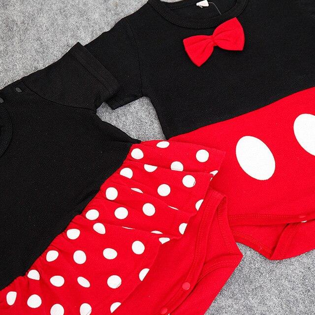 Été bébé barboteuses bébé fille vêtements bébé garçon vêtements nouveau-né bébé vêtements Dots infantile vêtements mignon enfant en bas âge combinaisons volants