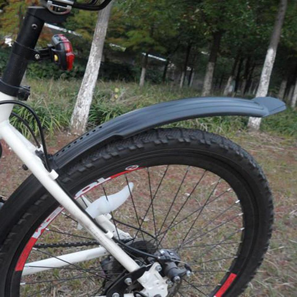 Pl/ástico Bicicleta Guardabarros Trasero y Delantero Set