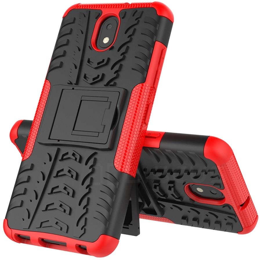 Plastic Silicone Shockproof Protector Armor Case For LG K30 2019 Phone Cover Funda For LG K30 K 30 LGK30 Case