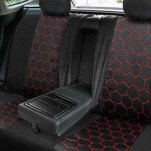 Автомобильные Чехлы, чехлы для сидений автомобиля, набор универсальных чехлов для Suzuki Alto Baleno Grand Vitara Liana Sx4, полиэстер, 5 чехлов для сидений автомобиля