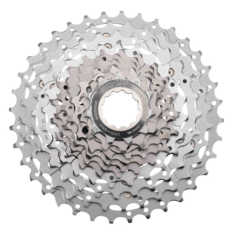 SHIMANO DEORE XT CS M771-10 11-36T 10 Speed MTB Bike Bicycle Cassette Freewheel