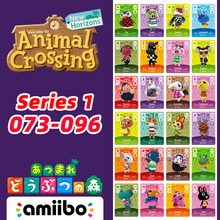 049-071 Animal Crossing New Horizons Amiibo Card Villagers Card With Amelia/Goose/Chief/Bunnie/Peanut/Henry Series Card 1 fielding henry amelia 2