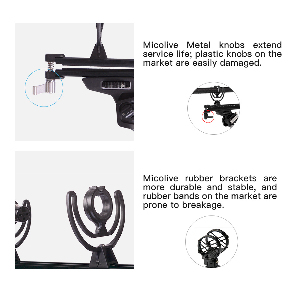Microphone wind protect Cage Windshield Shock Mount Suspension System for RODE Microphones HD audio collection VS RODE BLIMP